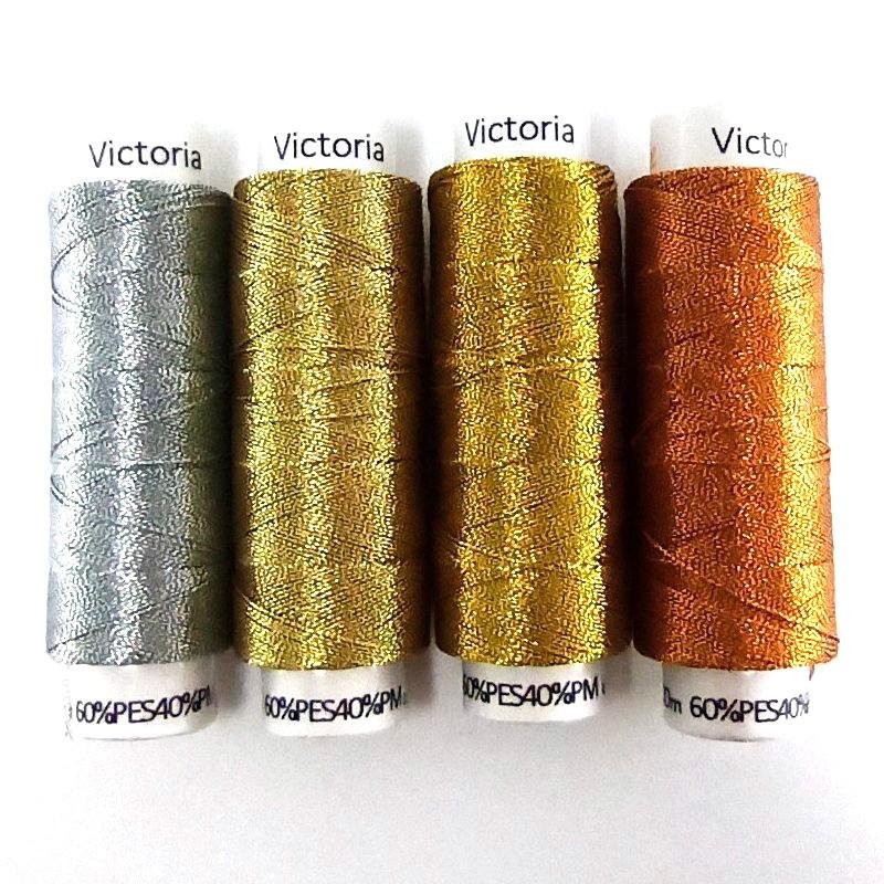 Metalické nitě - Victoria