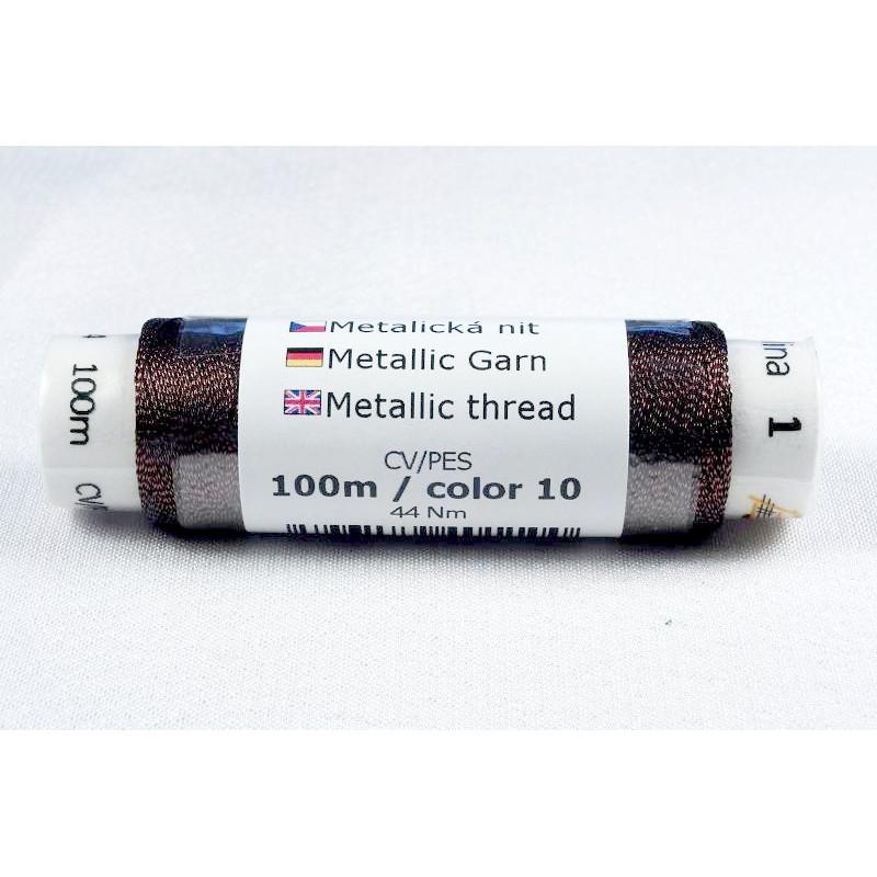 Efektní metalické nitě Karolína