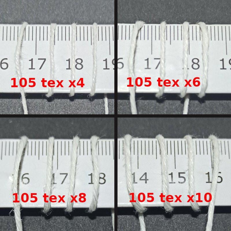 Lněná nit 105 Tex x4-10