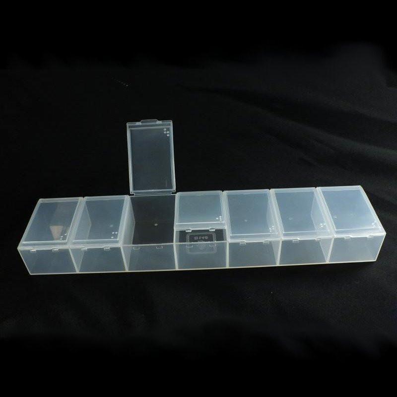 Krabička plastová 233x52x28 mm